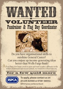 Wanted fundraiser